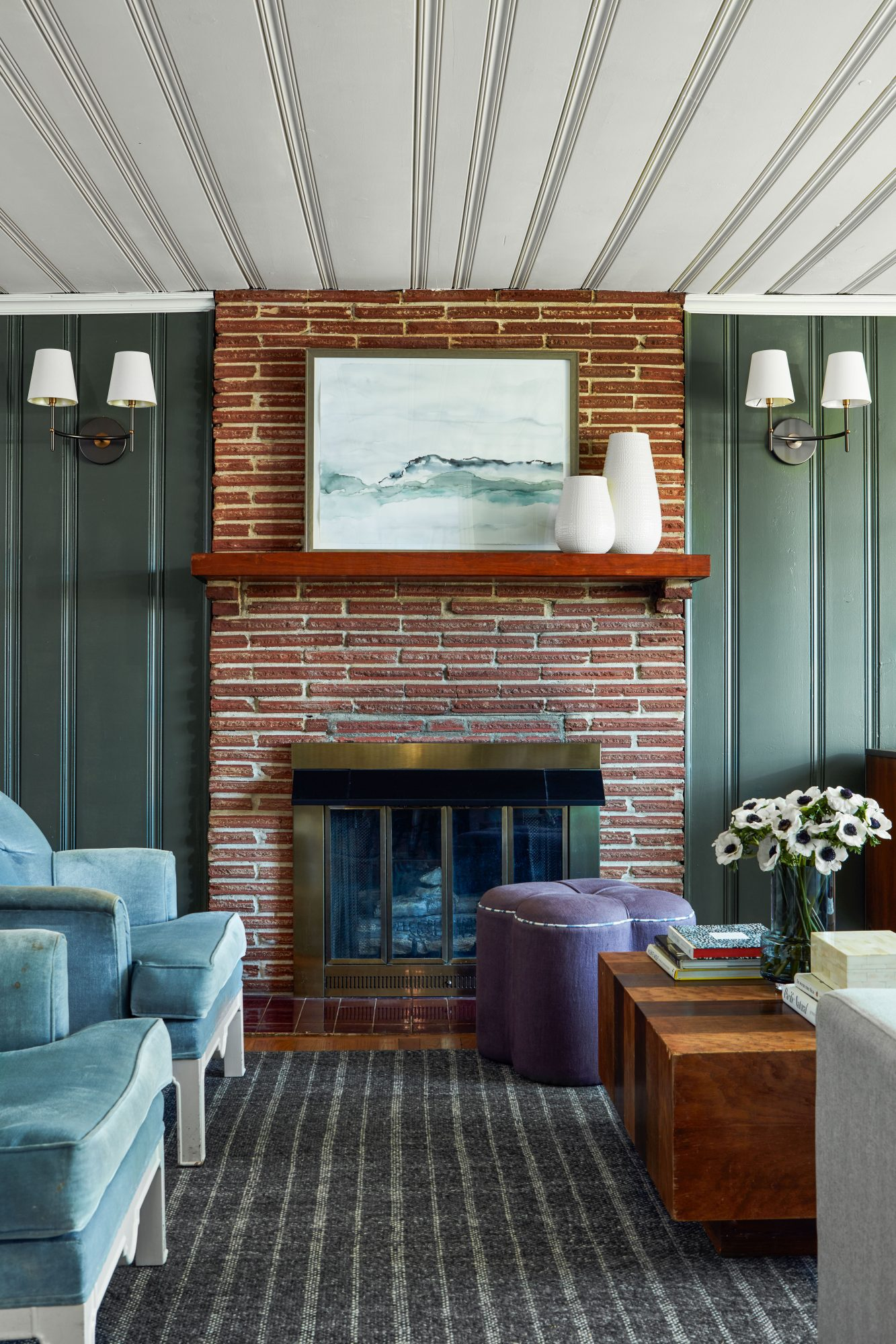 Carrolls First Home Remodel Living Room Fireplace