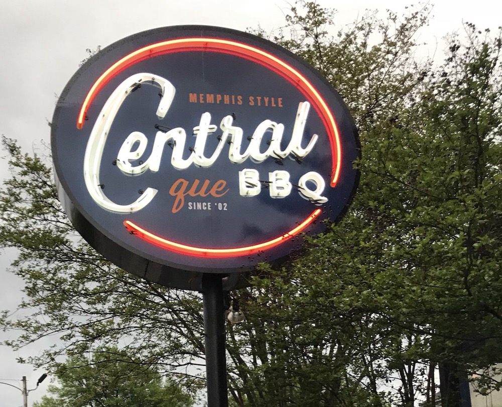 Central BBQ Sign