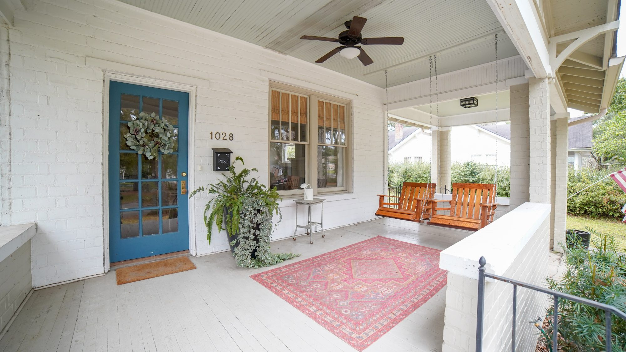 Home Town Laurel Mississippi Home for Sale Season 2 Cottage Porch