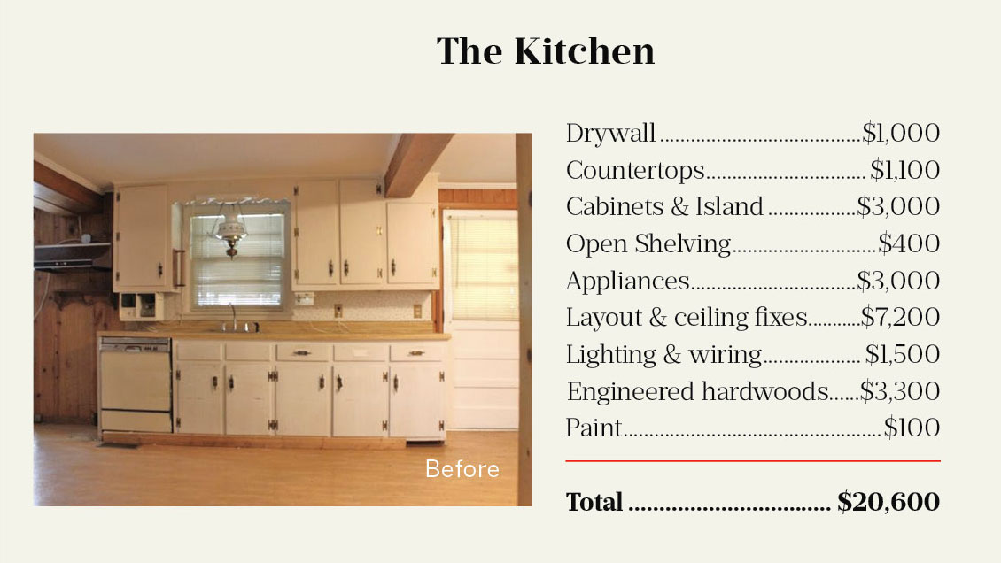 First Home Carroll Kitchen Before