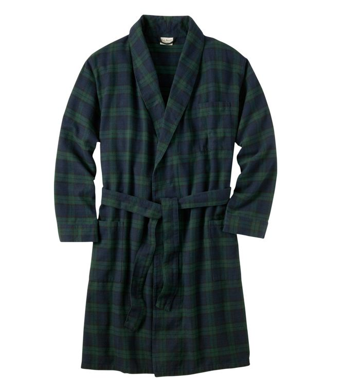 BUY IT: $69.95; llbean.comCelebrating Valentine's Day with a movie night in? Why not give him a soft new robe to wear for it?