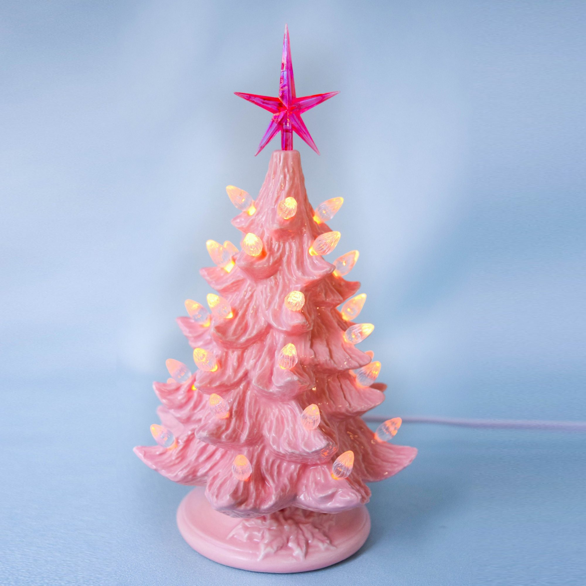 Grandma's Favorite Ceramic Christmas Trees Just Got a Valentine's Day Makeover