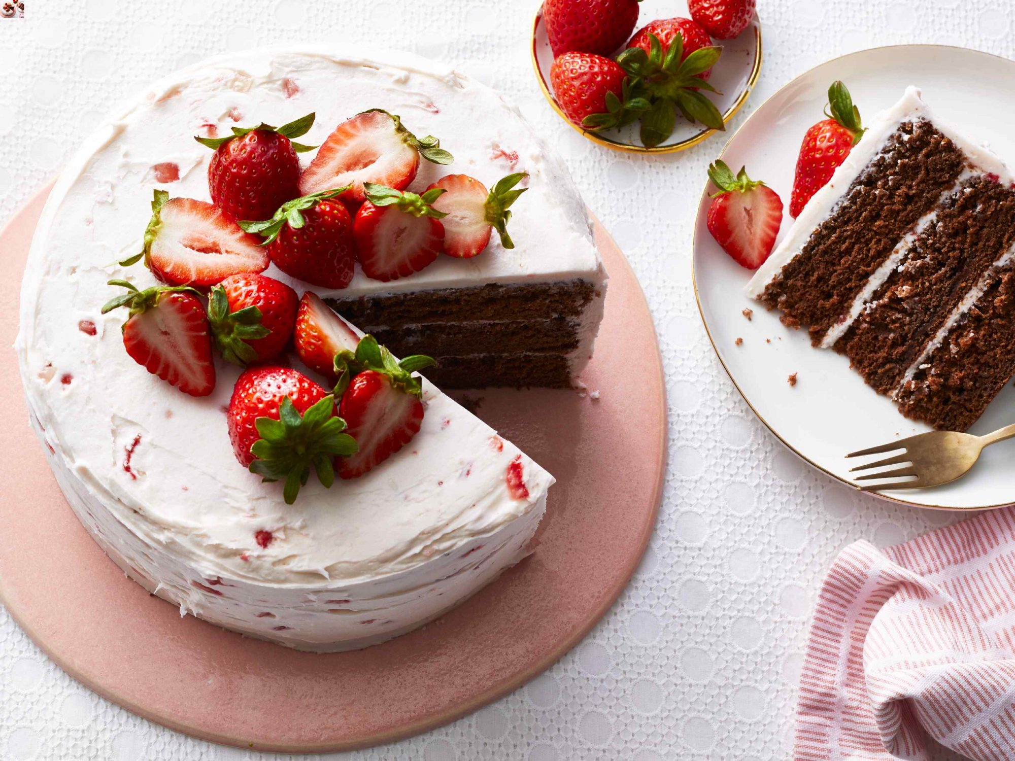 Chocolate Strawberry Cake Southern Living