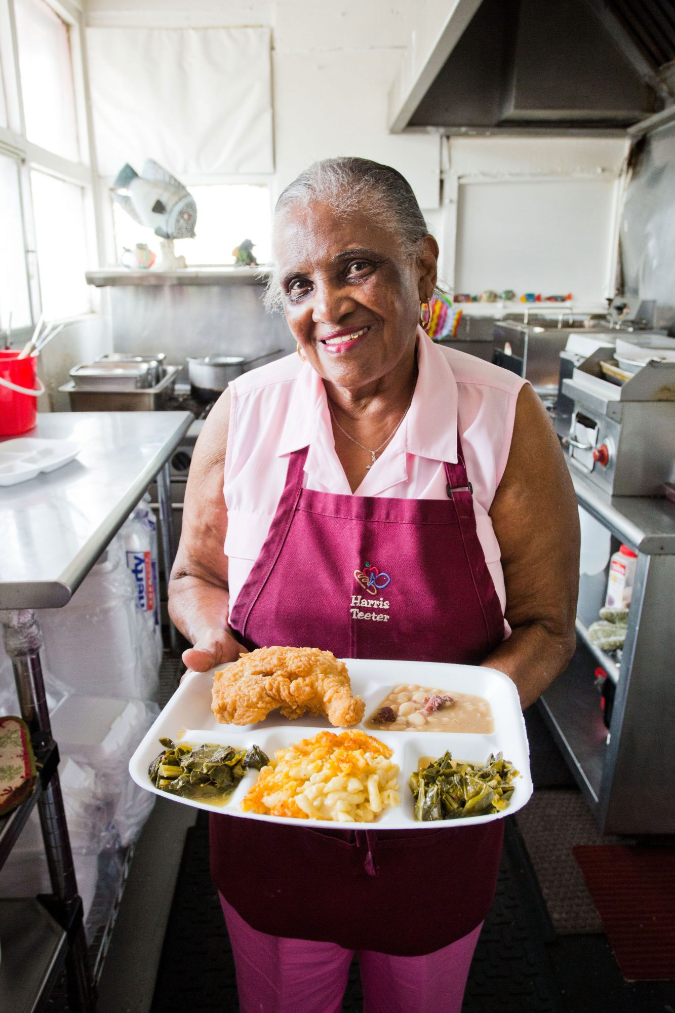 Martha Lou Gadsden of Martha Lou's Kitchen in Charleston