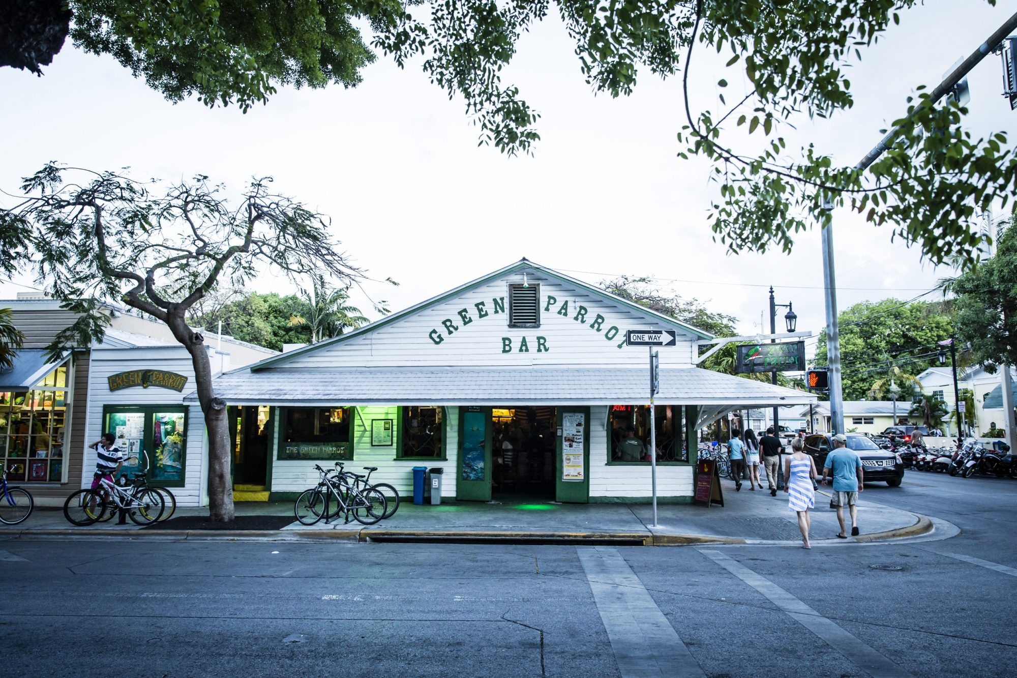 Dive Bar: Green Parrot Bar (Key West, Florida)