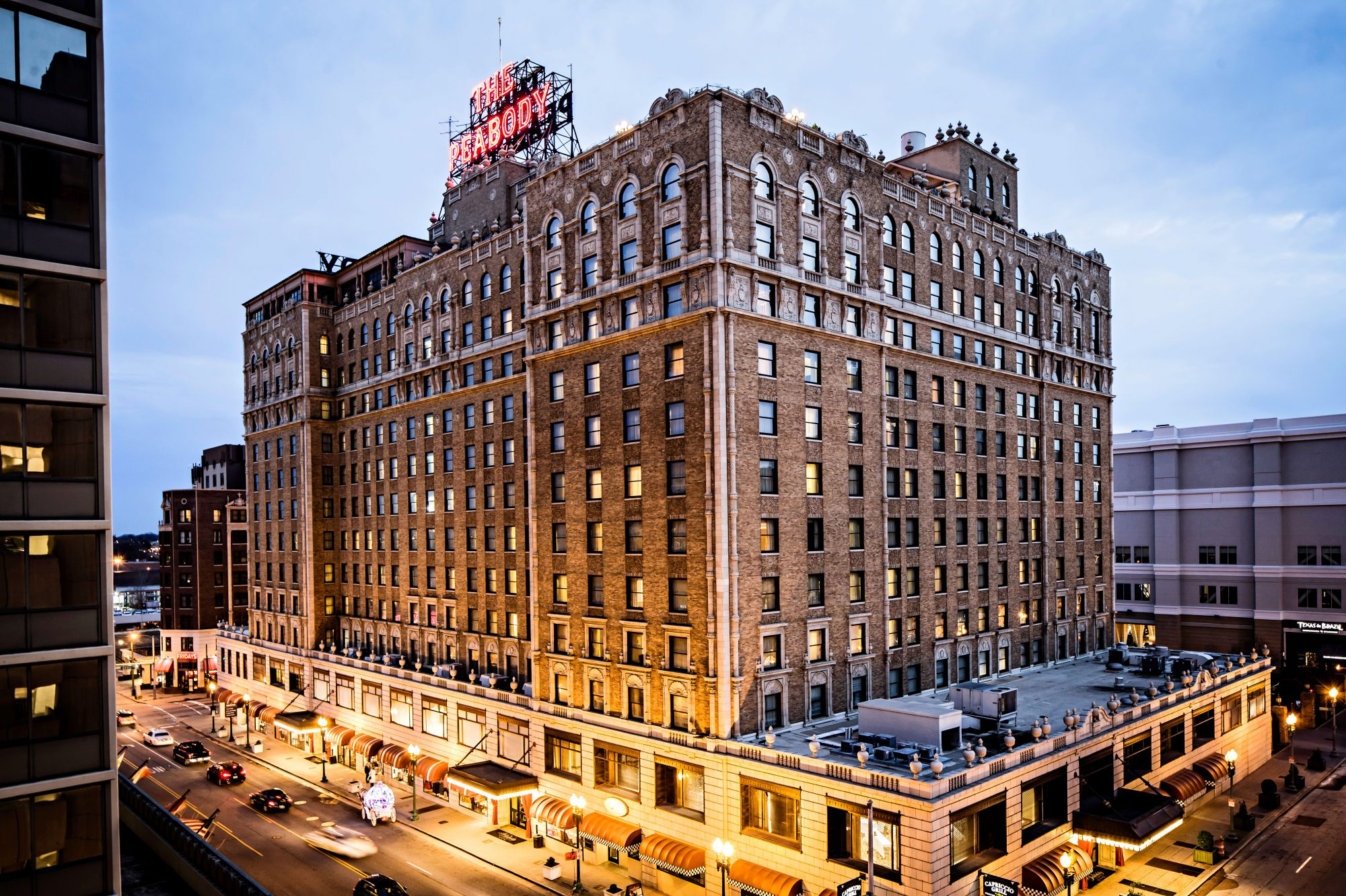 1. The Peabody Memphis (Memphis, Tennessee)