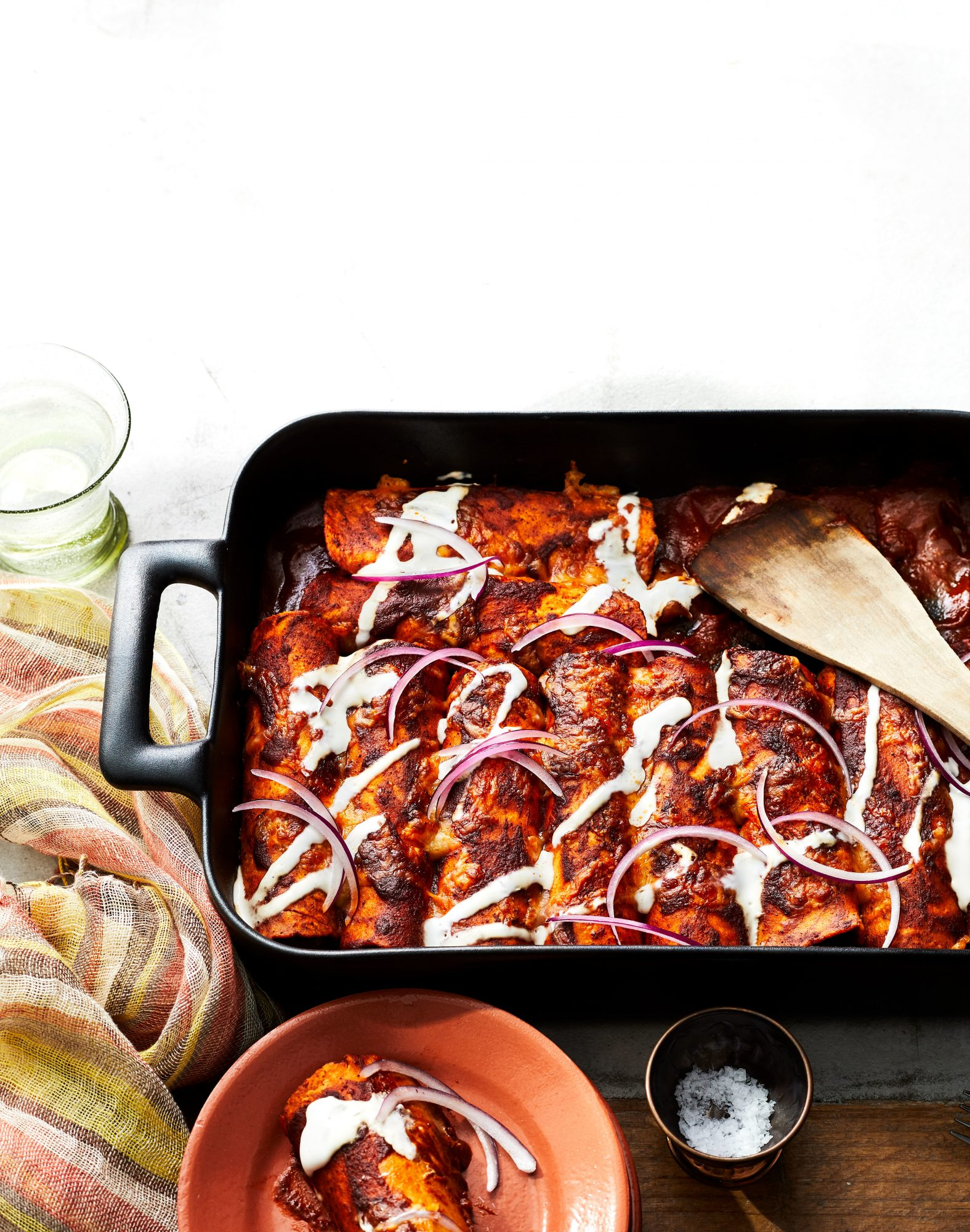 Chili Cheese Enchiladas