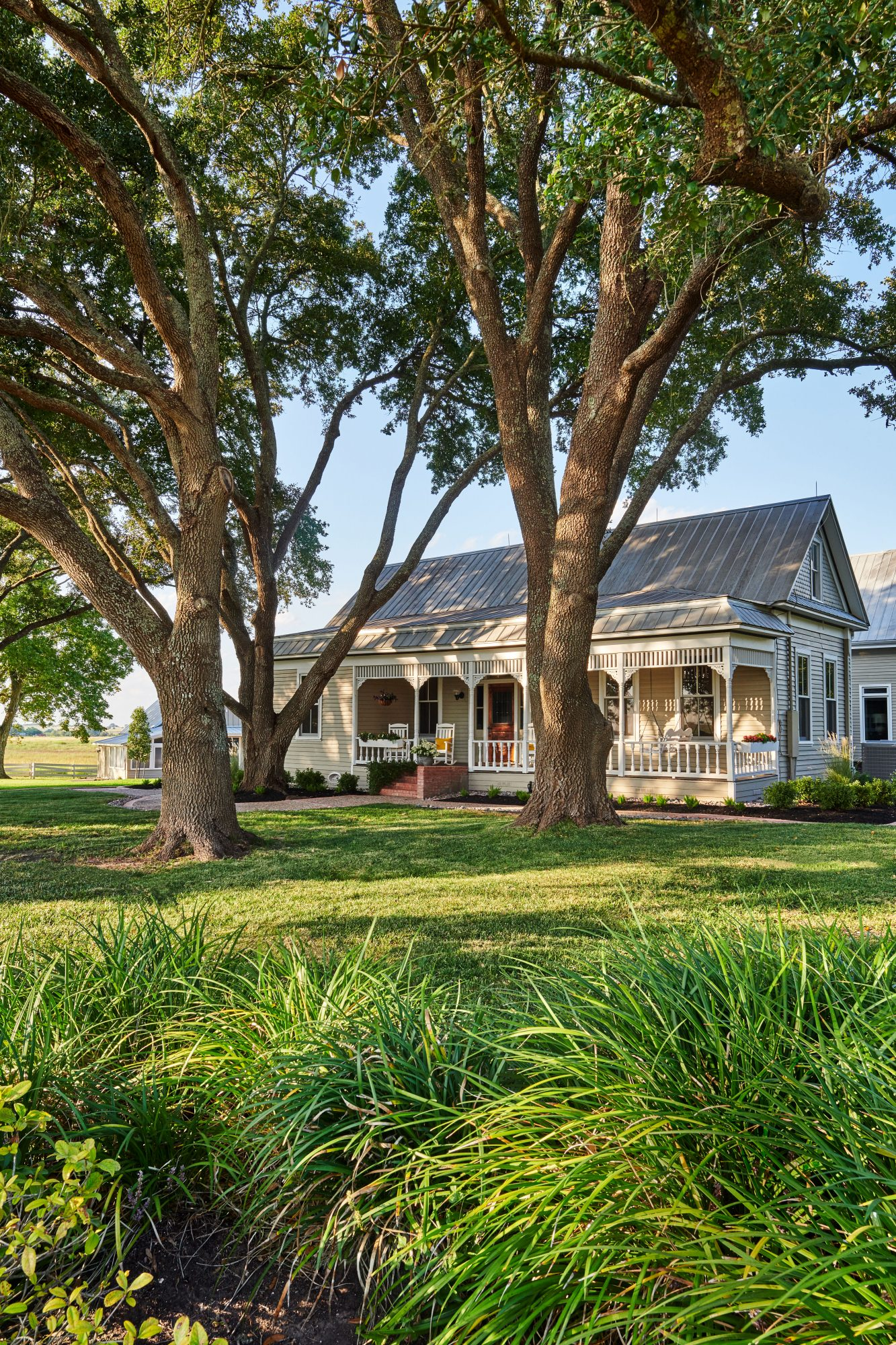 Braden Family 1907 Farmhouse in Brenham, TX Exterior