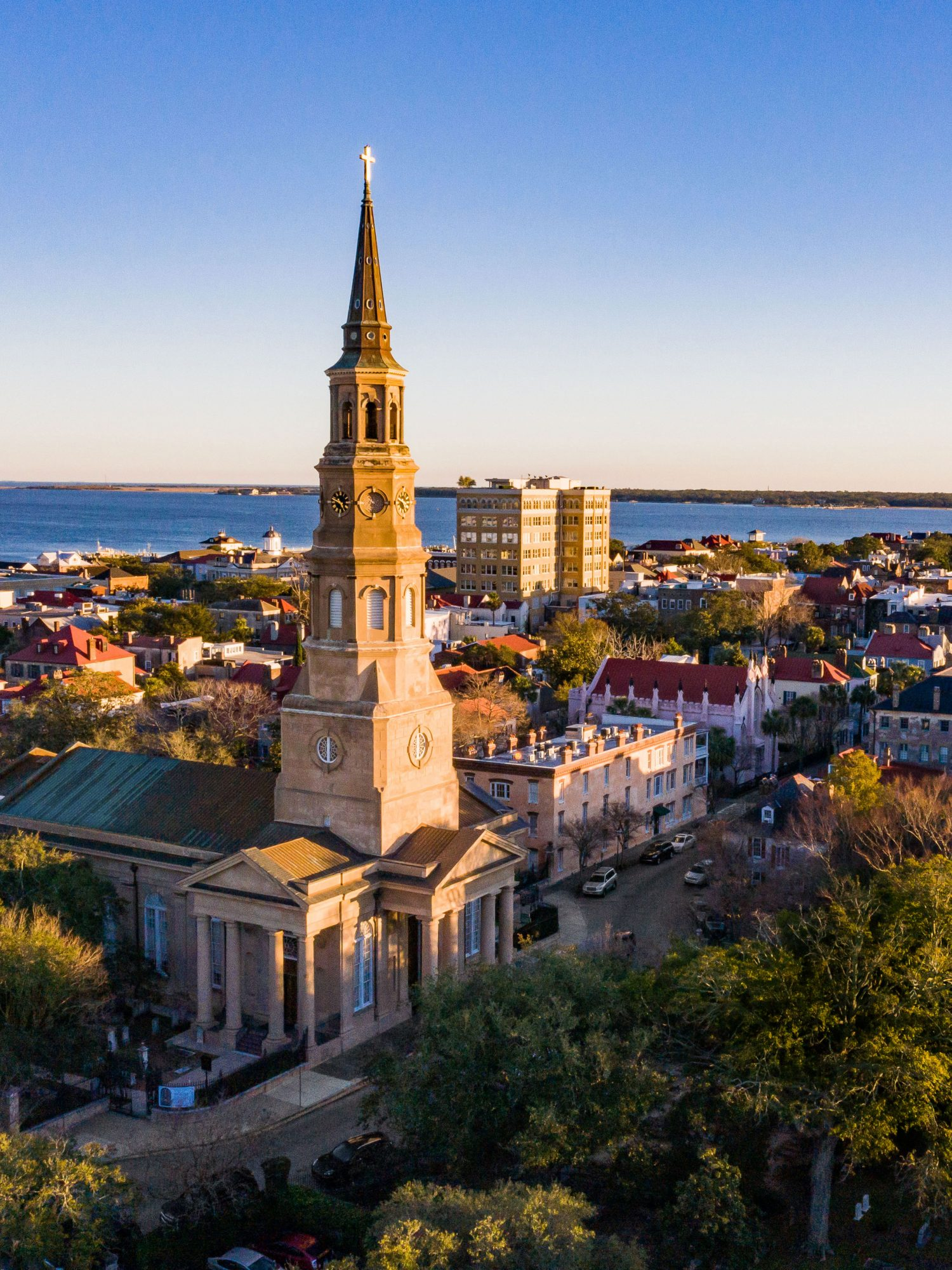 St. Philip's Church in Charleston, SC