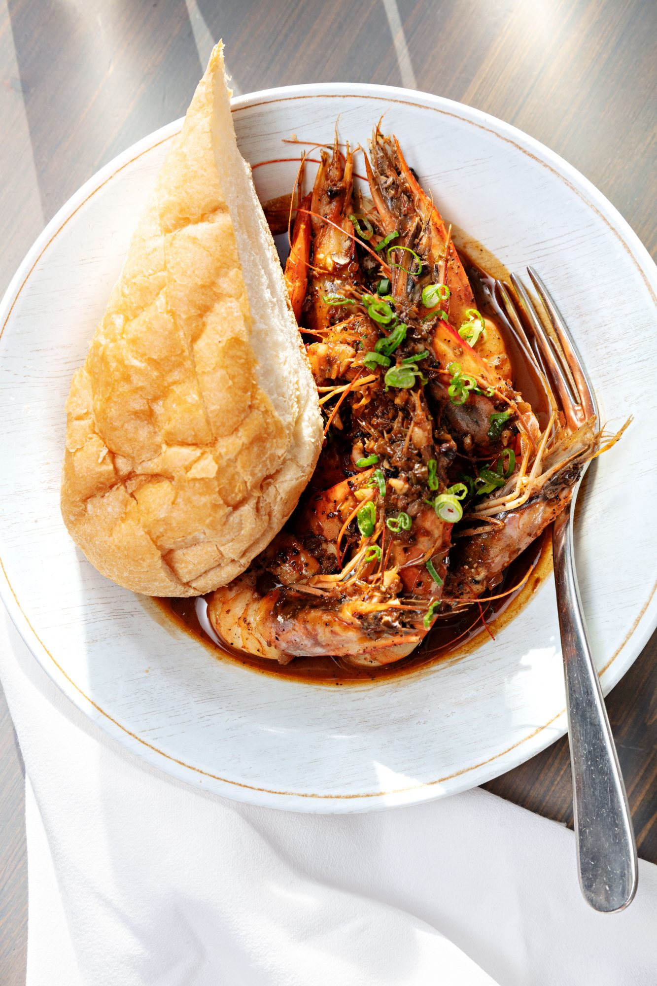 Rosemary BBQ Shrimp at Rosedale in New Orleans