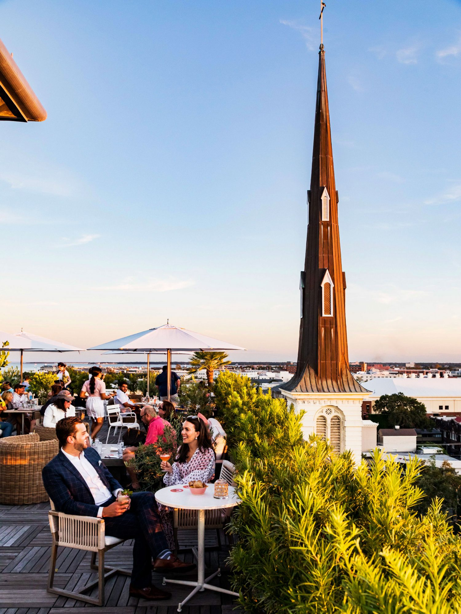 The Dewberry Hotel Charleston Rooftop Bar