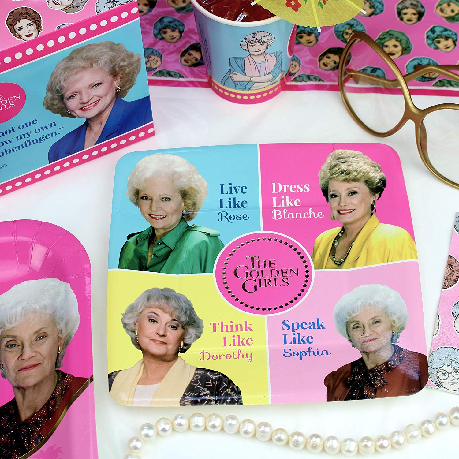 Attention,<i>Golden Girls</i> Fans: This Birthday Party Supplies Kit Takes Celebrations to the Next Level