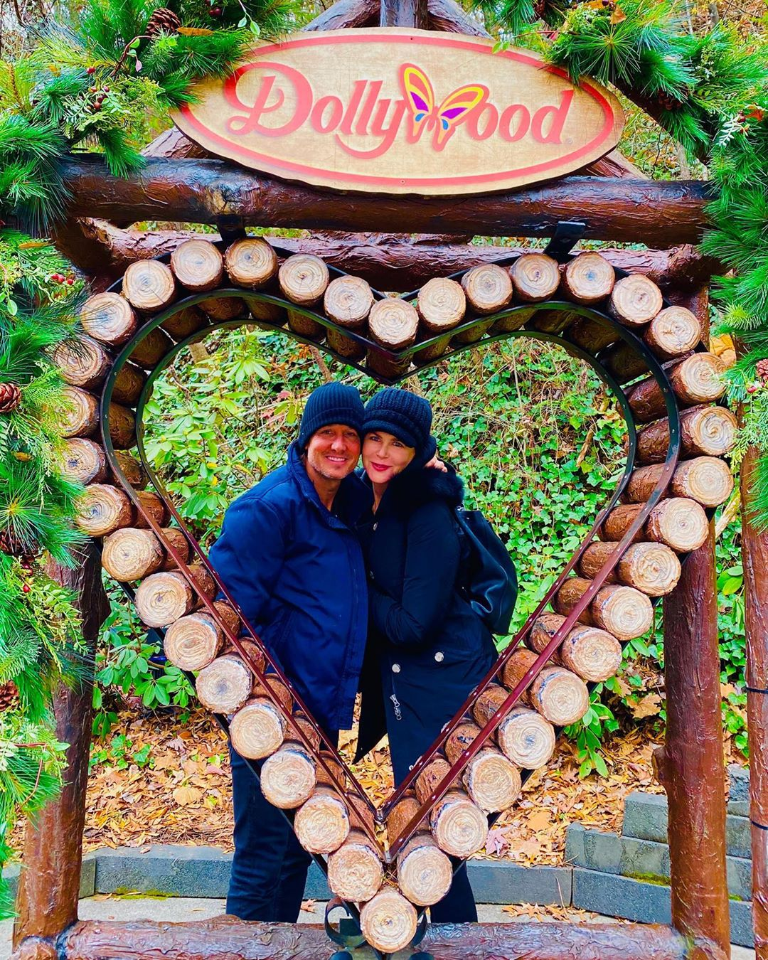 Dollywood Day! Nicole Kidman and Keith Urban Celebrated Valentine's with a Trip to Pigeon Forge