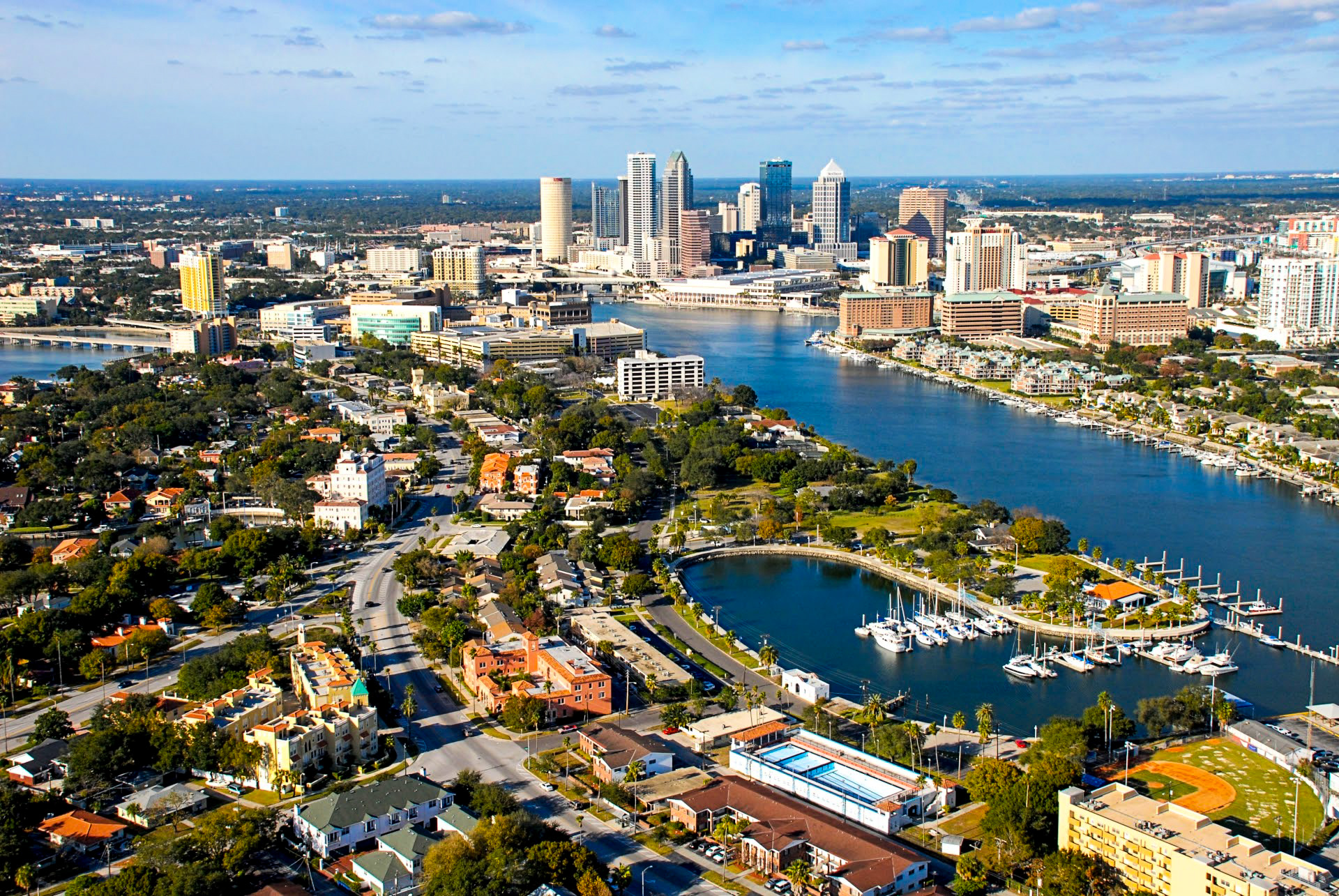 10. Davis Islands (Tampa, Florida)