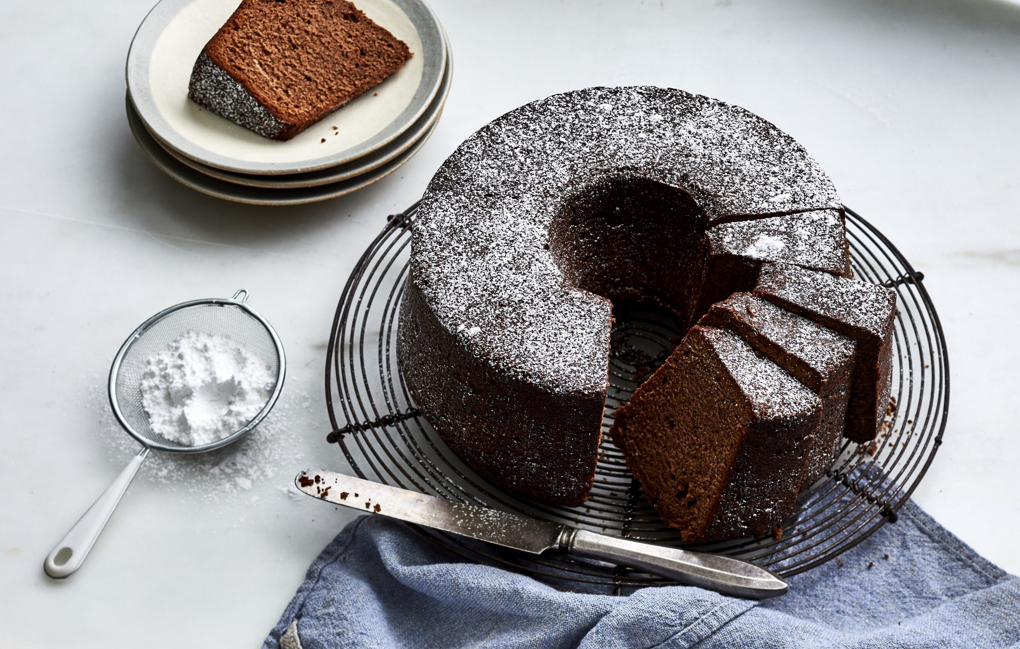 Classic Chocolate Pound Cake
