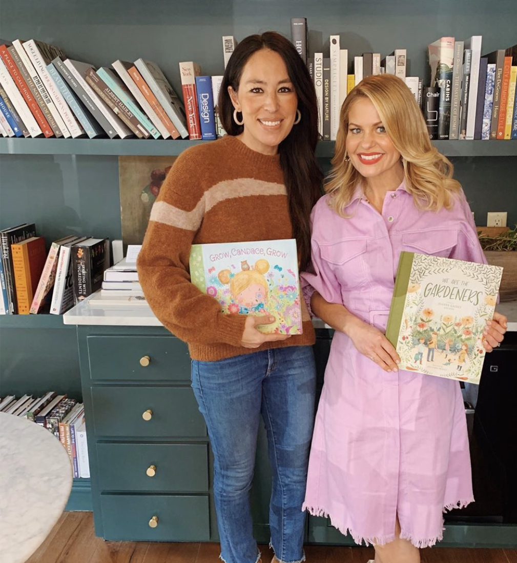 Candace Cameron Bure and Joanna Gaines Hang in Waco and Exchange Their New Children's Books