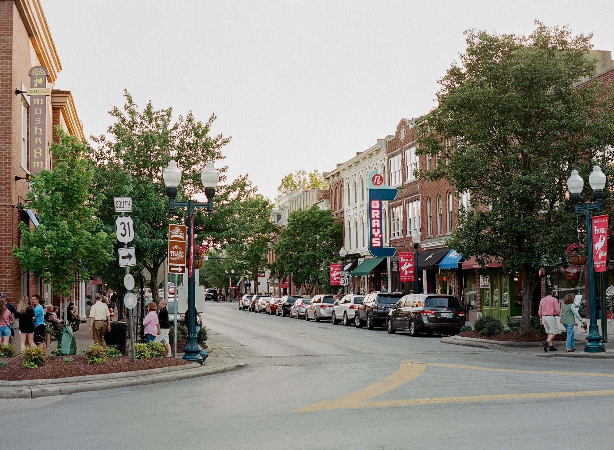 Main Street in Franklin, Tennessee 06