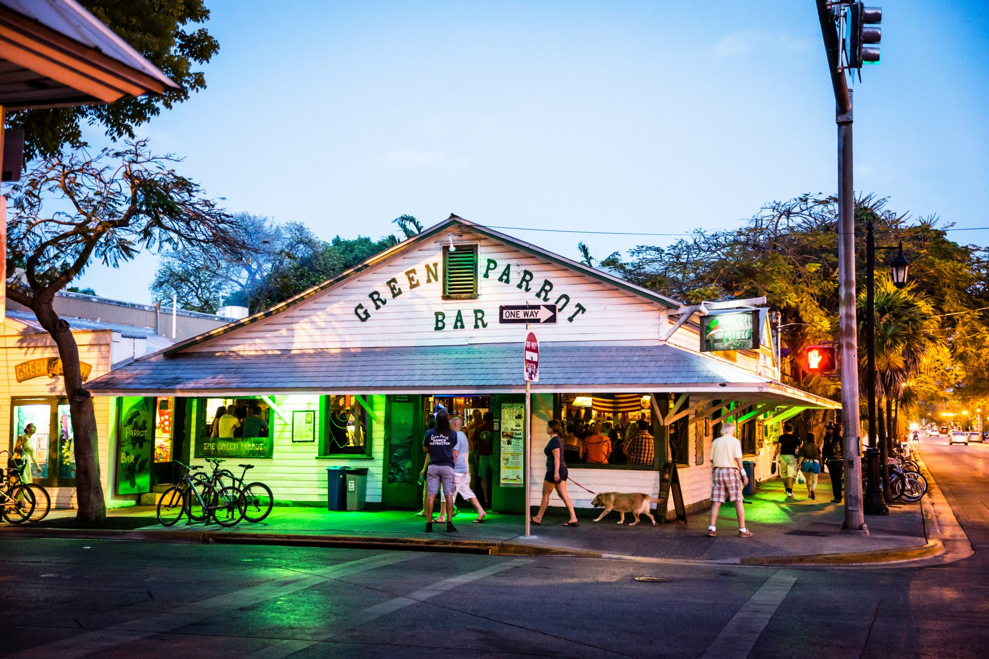 1. Green Parrot Bar (Key West, Florida)