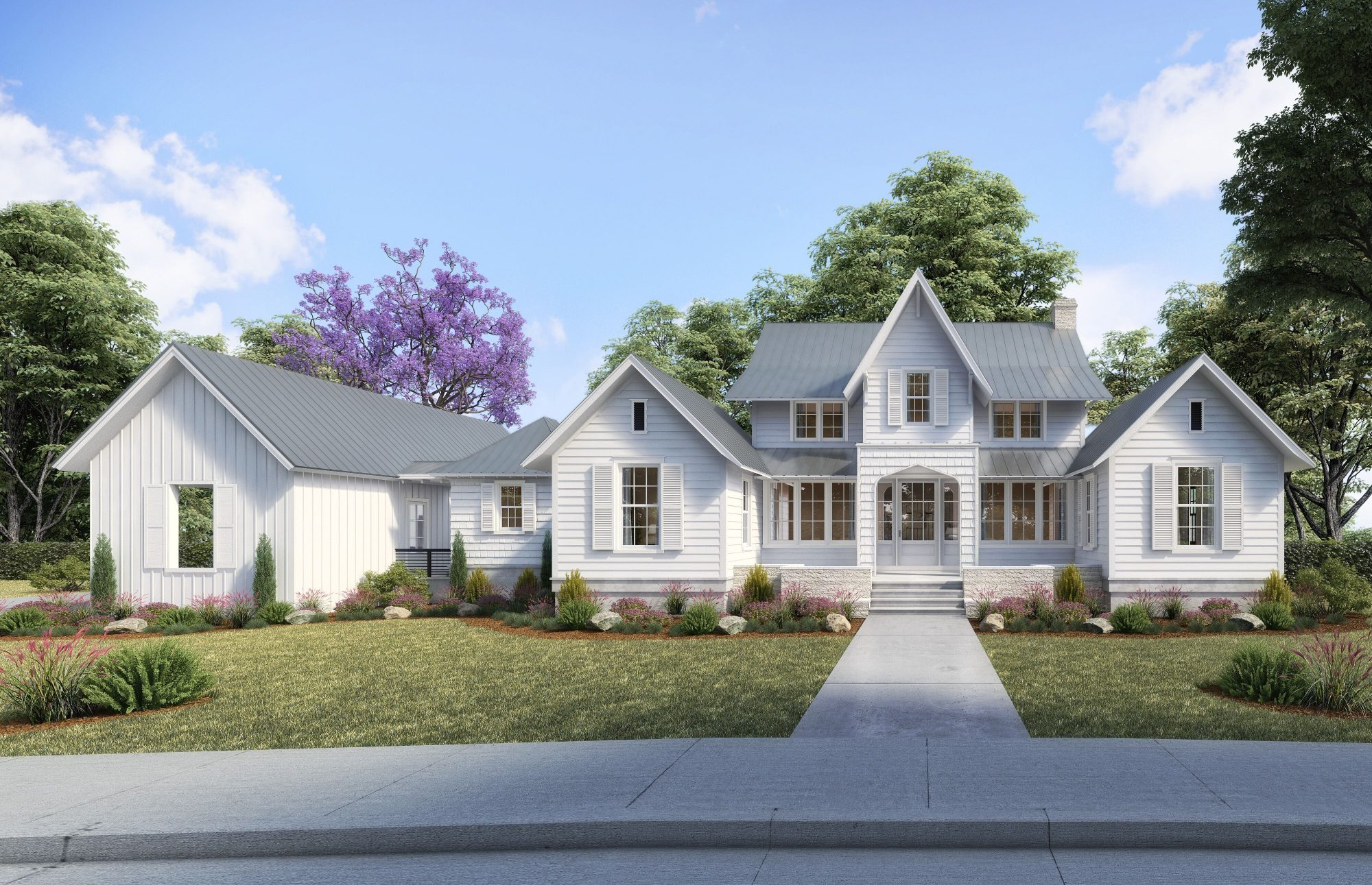 2020 Idea House Rendering in Asheville, NC