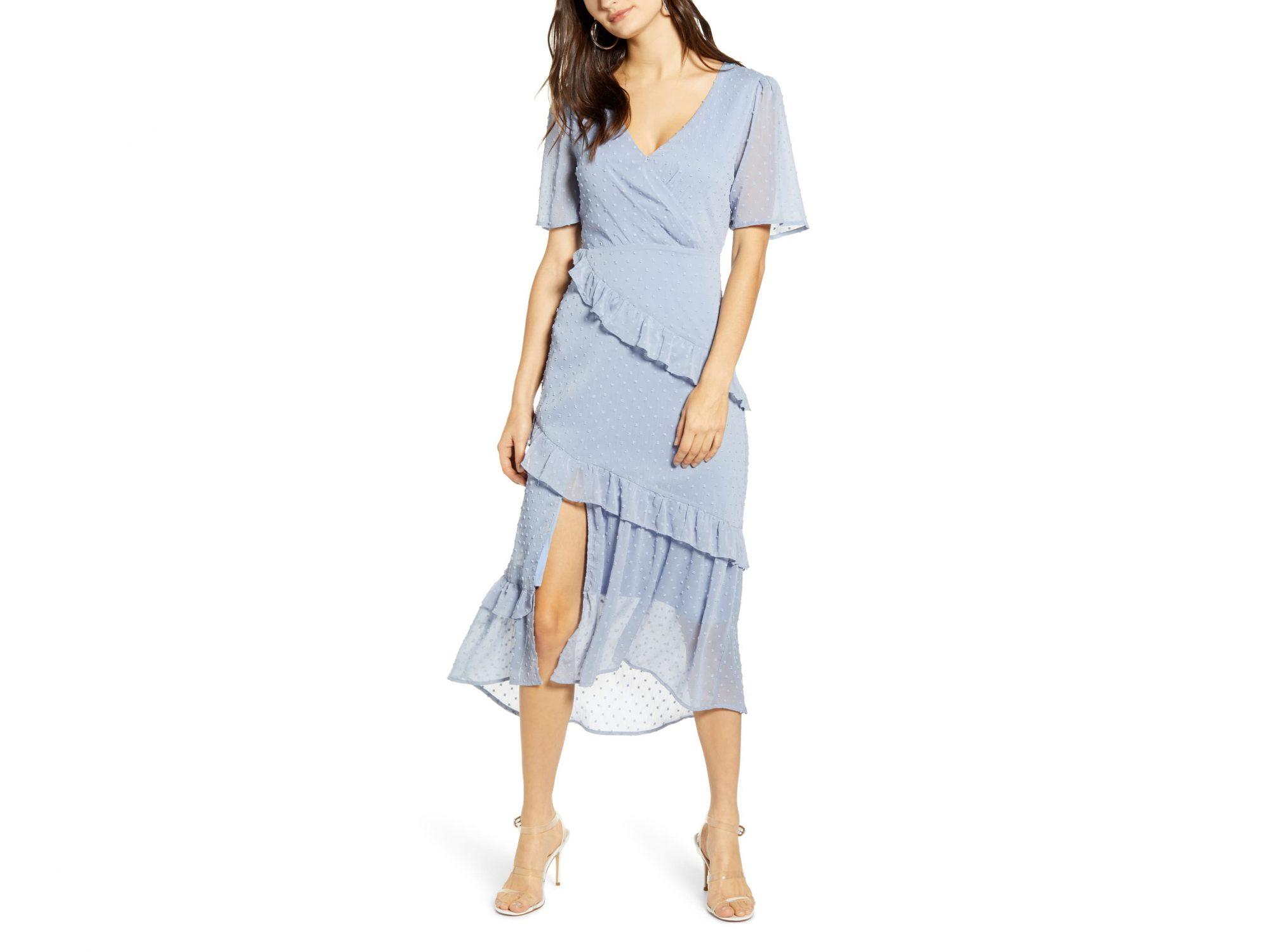 All in Favor Tiered Ruffle Dress