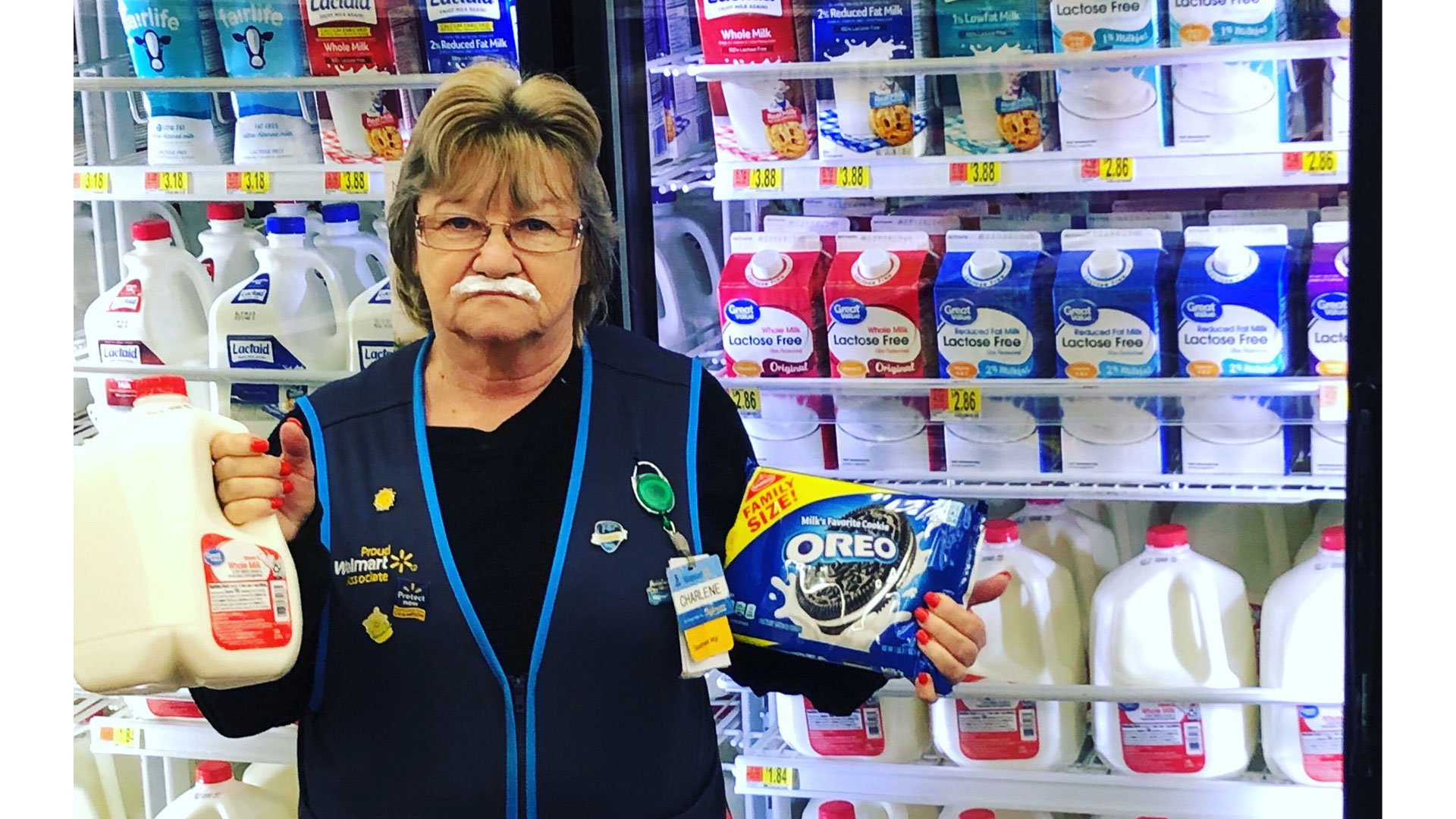 Maryland Walmart Employee and her Deadpan Expression Become Viral Sensation