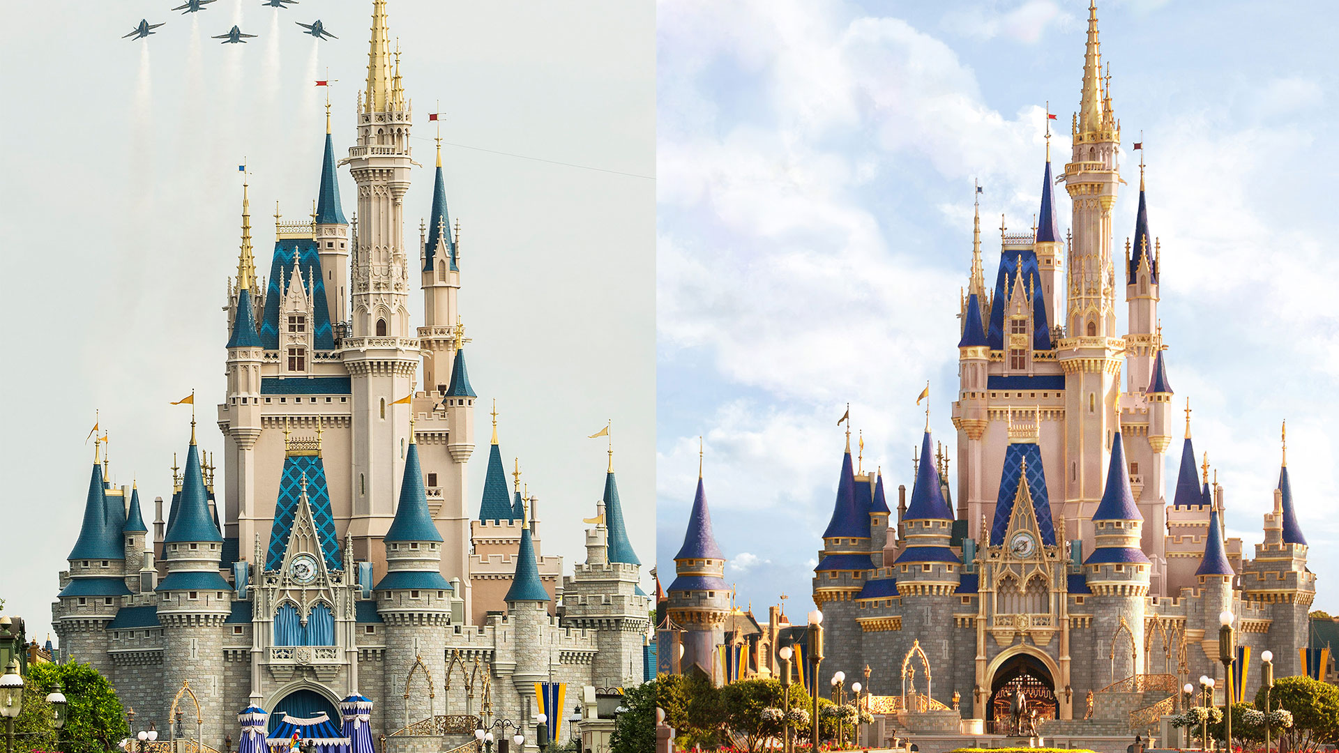 Cinderella's Castle at Disney World is Getting a Glam New Makeover