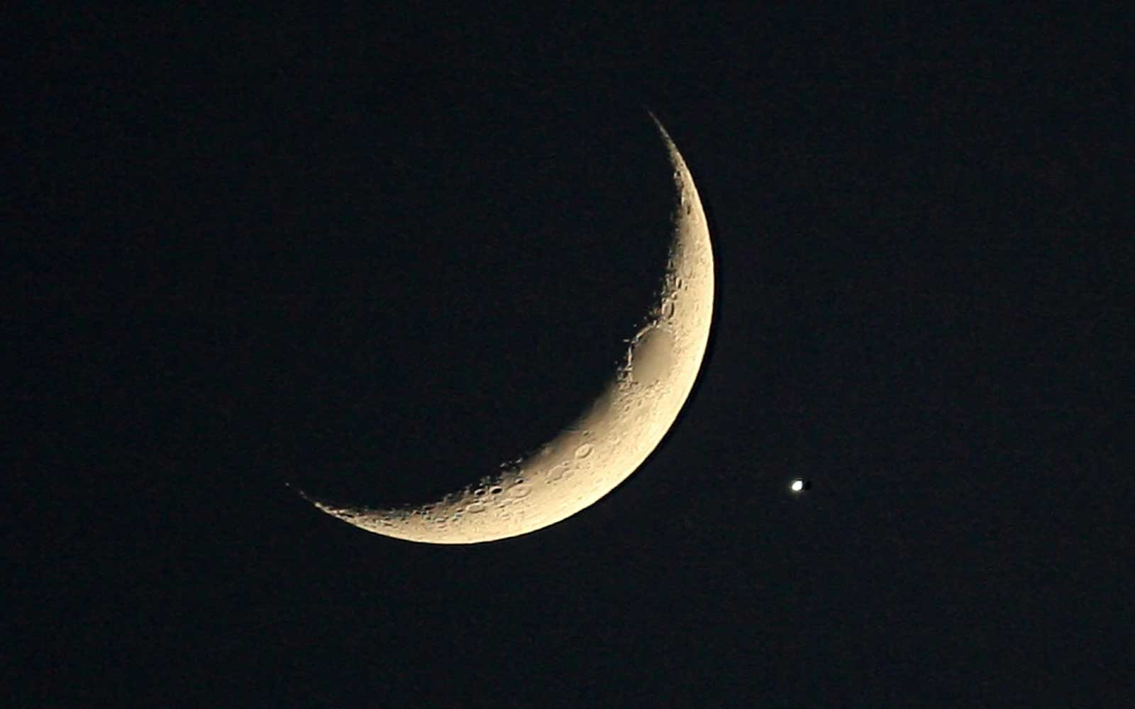 Venus and the Moon Will 'Kiss' in a Rare Celestial Show This Week — Here's How to See It