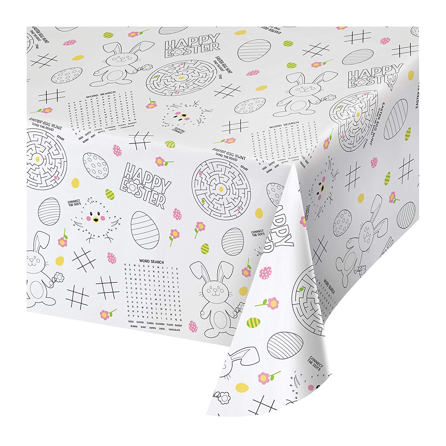 Easter Activity Tablecloth Set