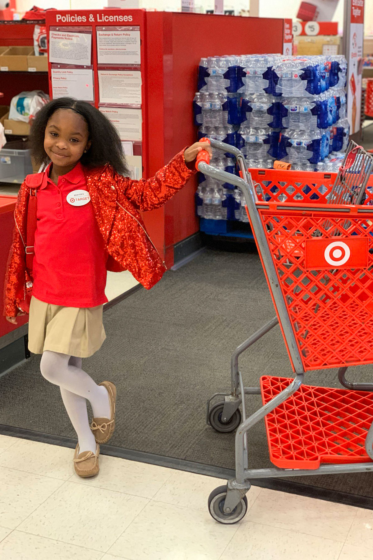 8-Year-Old Girl in Atlanta Throws Her Dream Birthday Party with Friends at Local Target