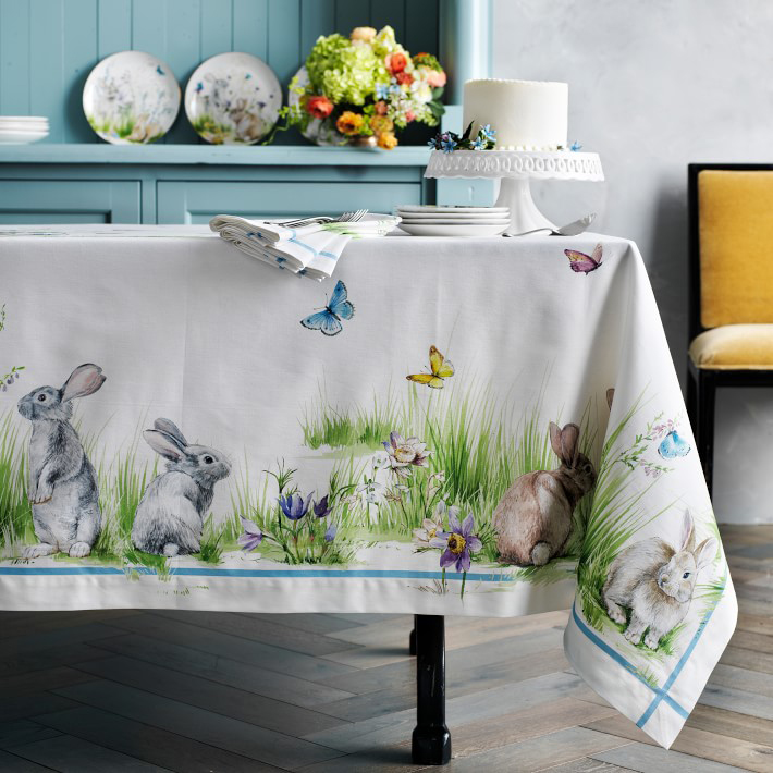 Floral Meadow Tablecloth