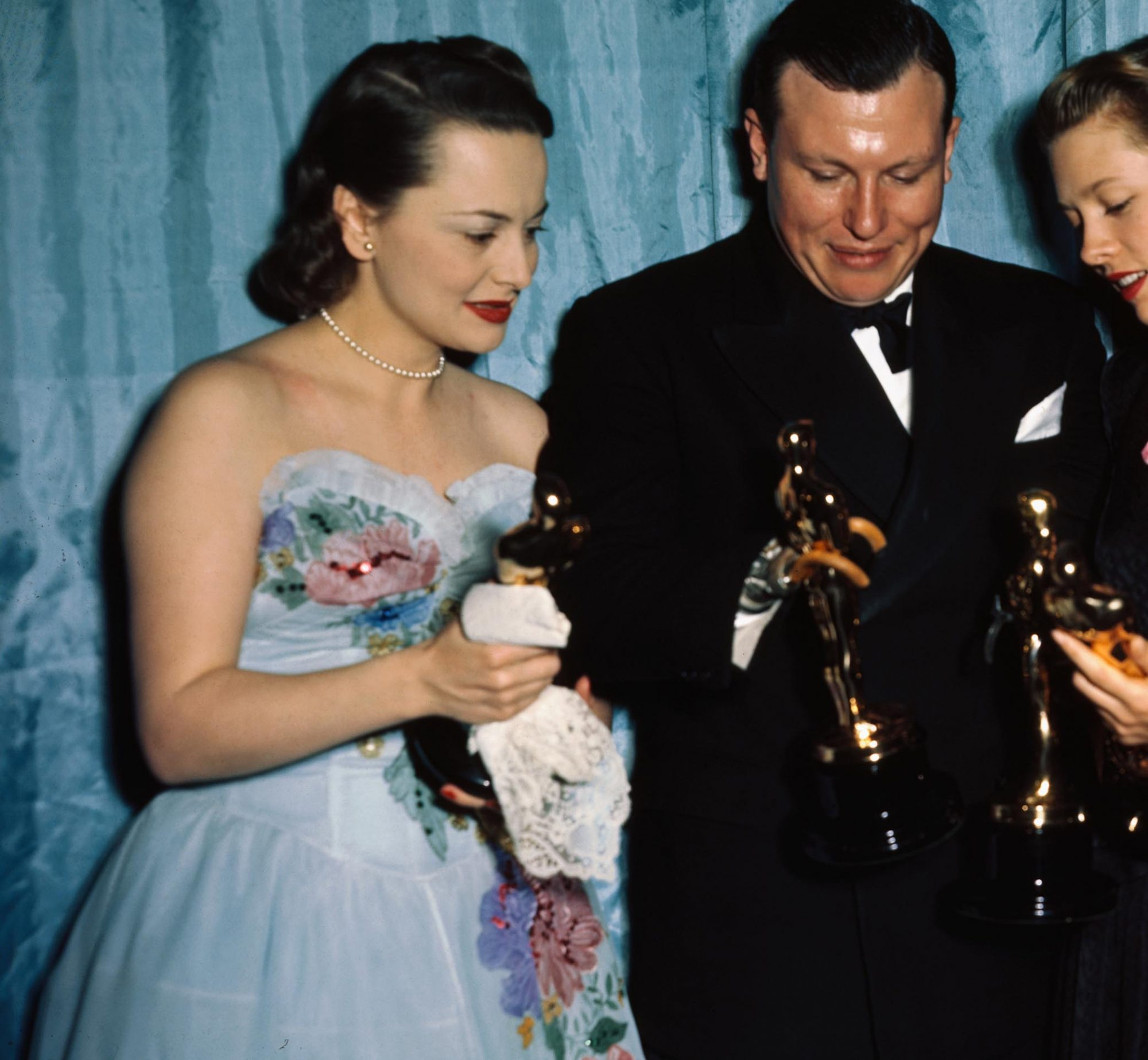 Olivia de Havilland at Academy Awards