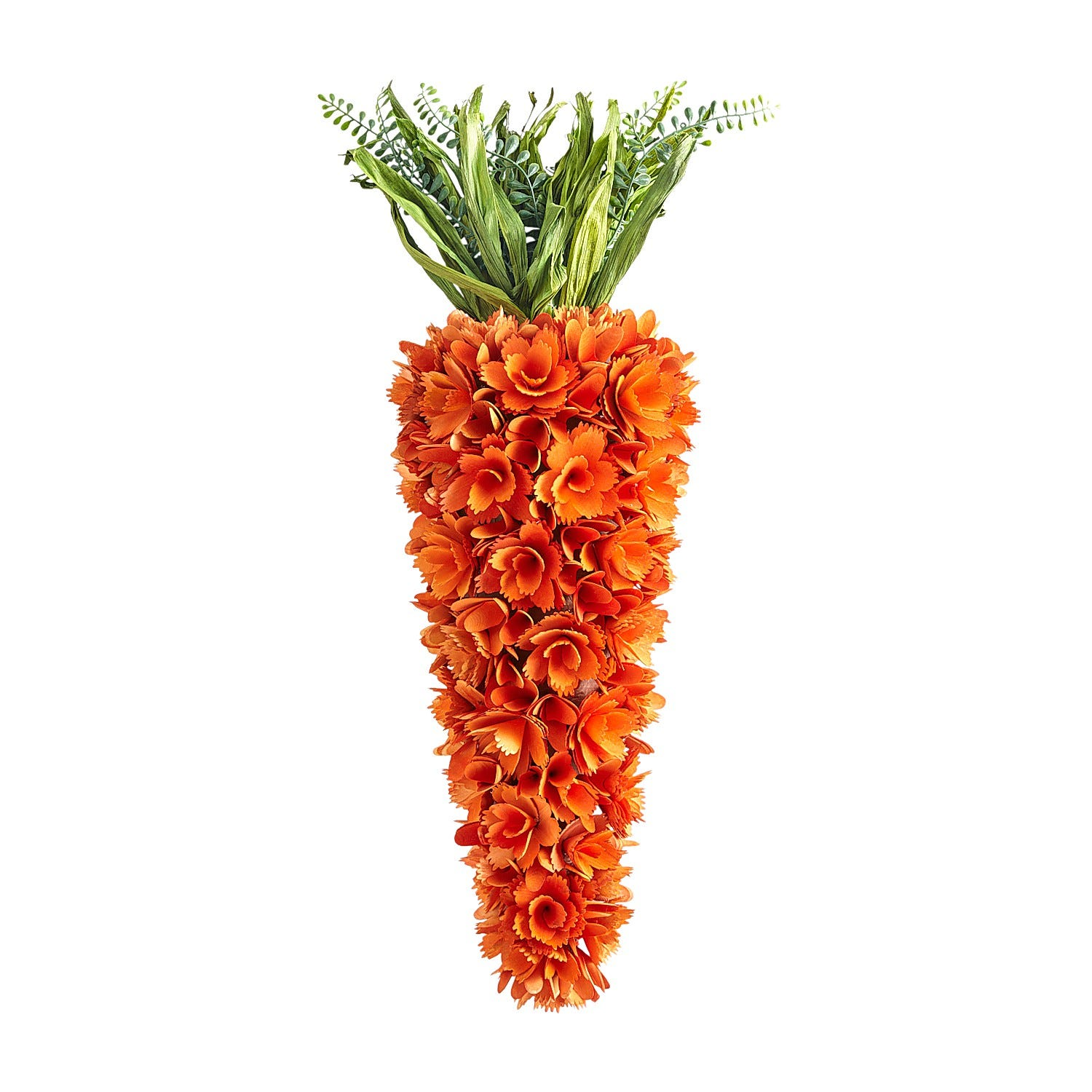 Carrot-Shaped Wreath