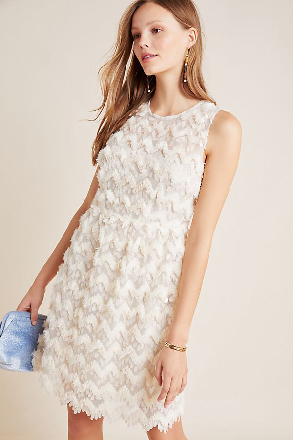 Priscilla Textured Mini Dress