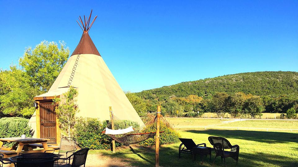 These Tricked-Out Texas Tipis on the Guadalupe River Make for the Ultimate Outdoorsy Weekend