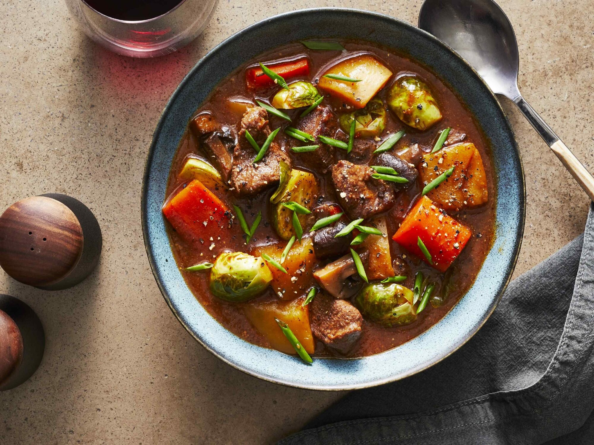 Slow Cooker Venison Stew Recipe Southern Living