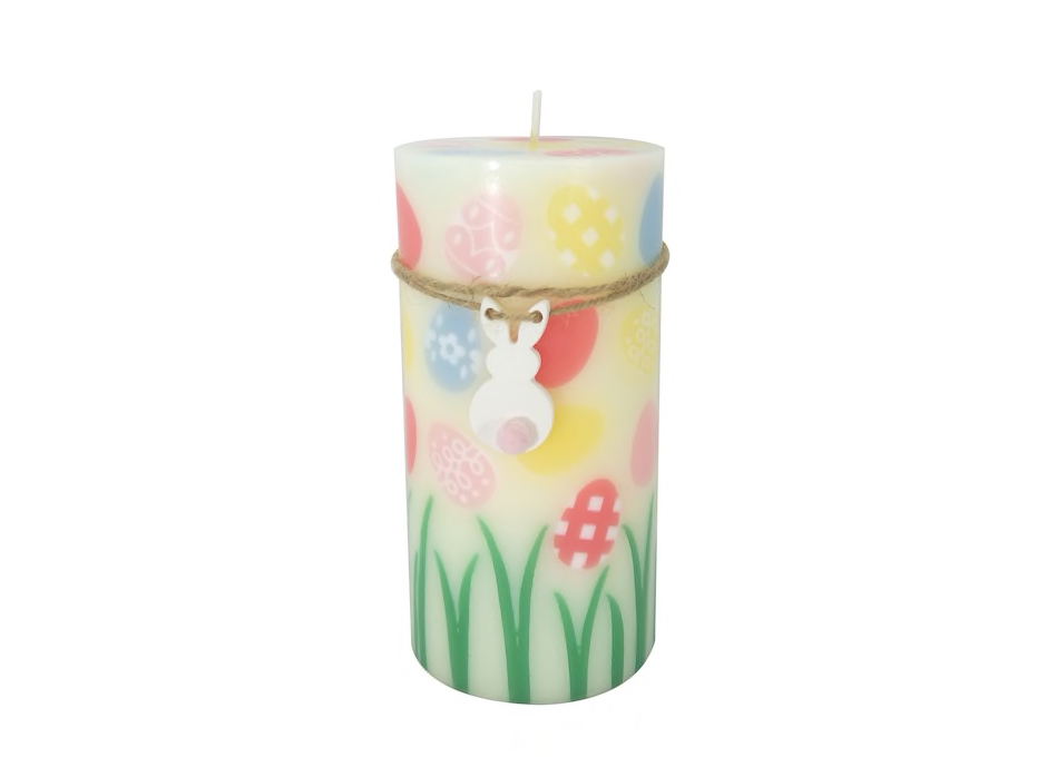 Egg Pillar Candle