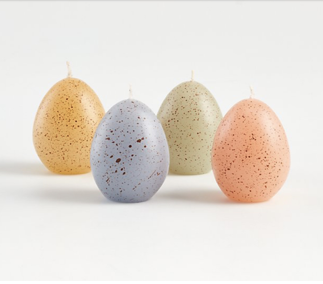 Speckled Egg Candles