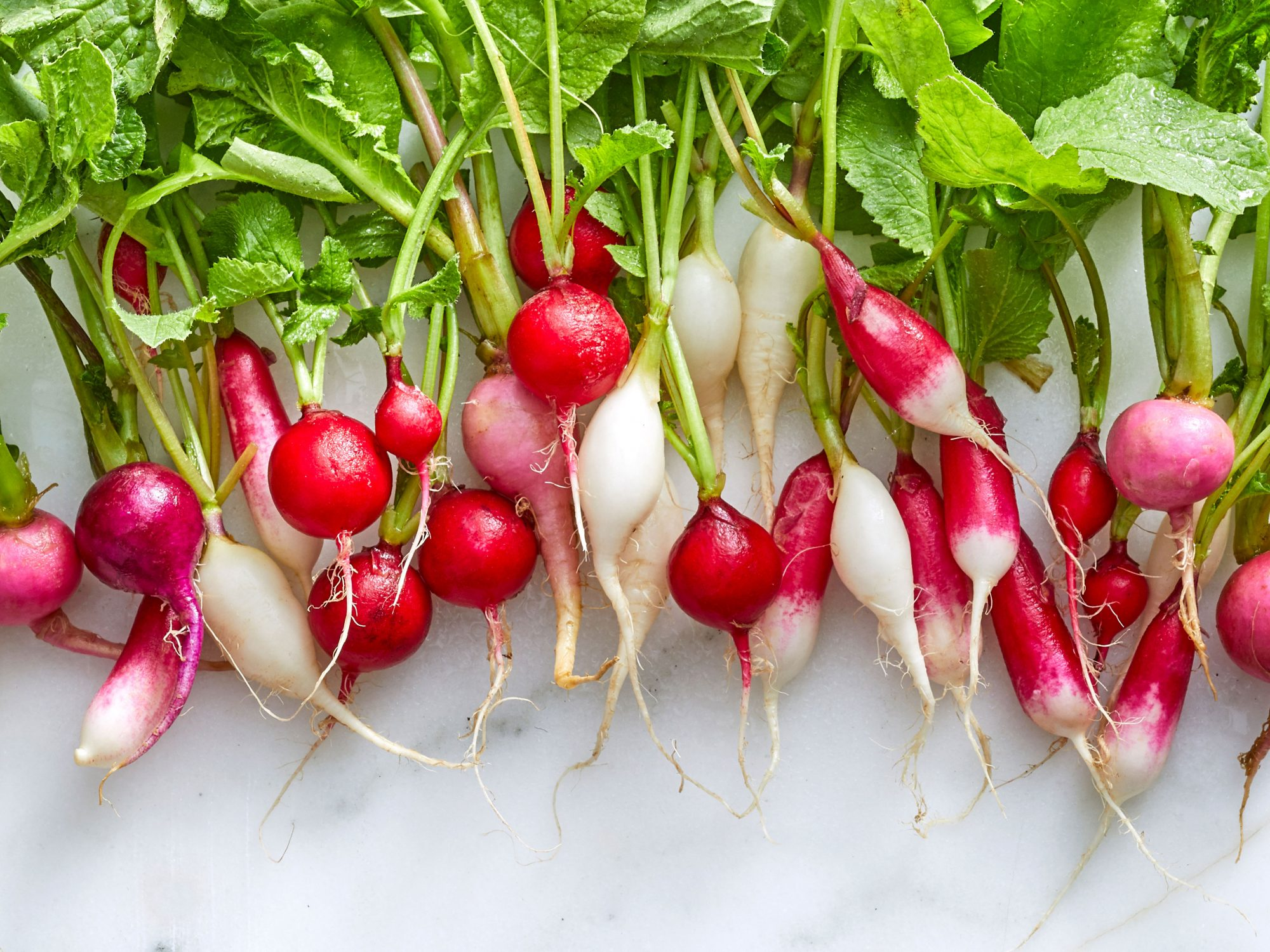 Grouping of Different Varieties of Radishes