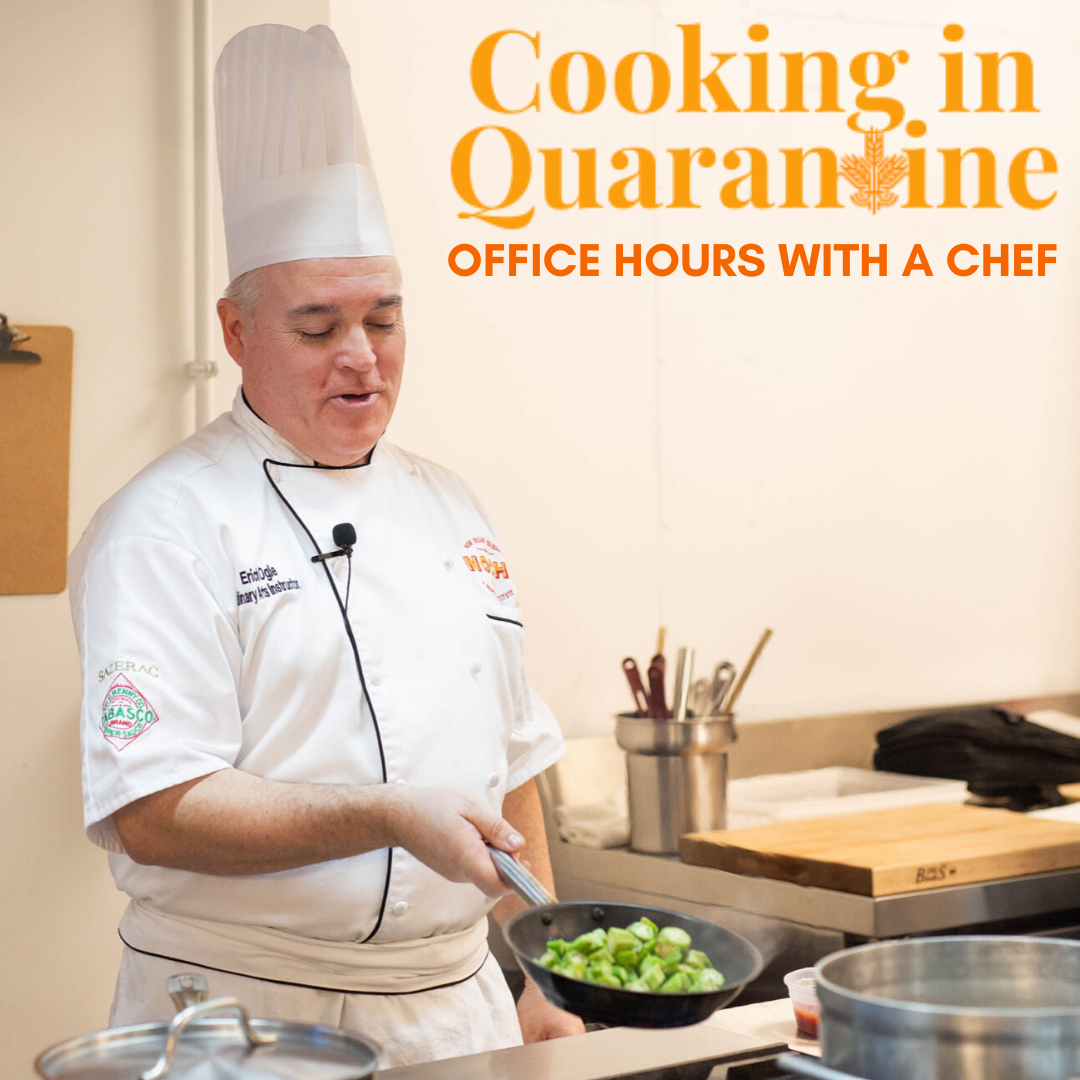 "NOLA Culinary School Is Hosting ""Cooking in Quarantine"" Lessons on Zoom"