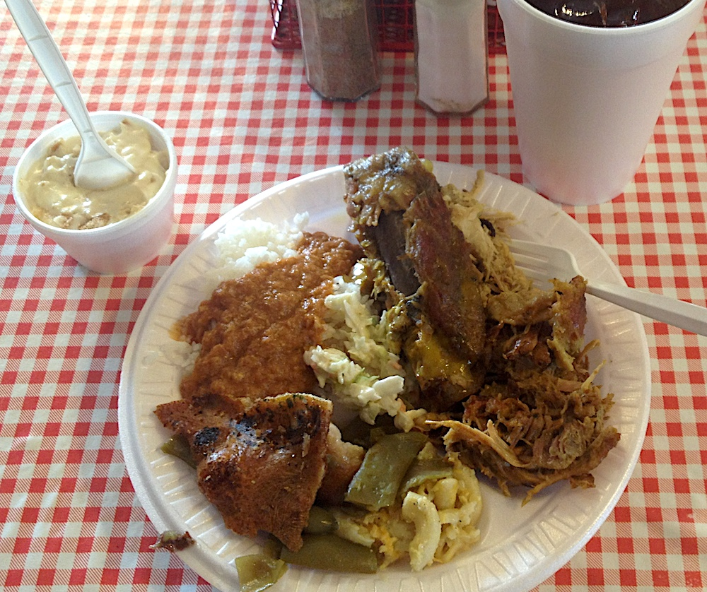 Sweatman's Hash and Rice with BBQ in Holly Hill, SC