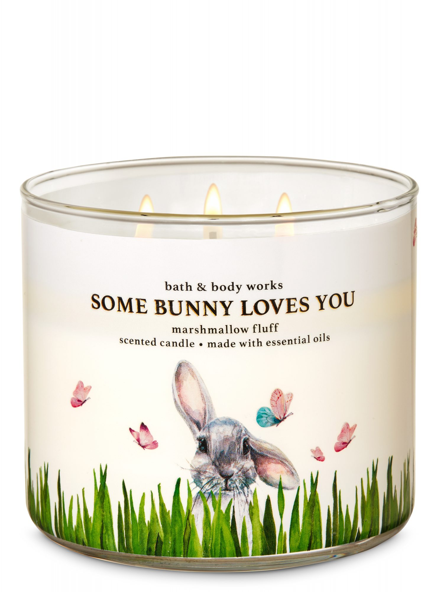 Bath & Body Works Easter Some Bunny Loves You Candle