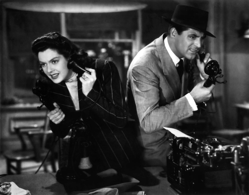 His Girl Friday, Amazon