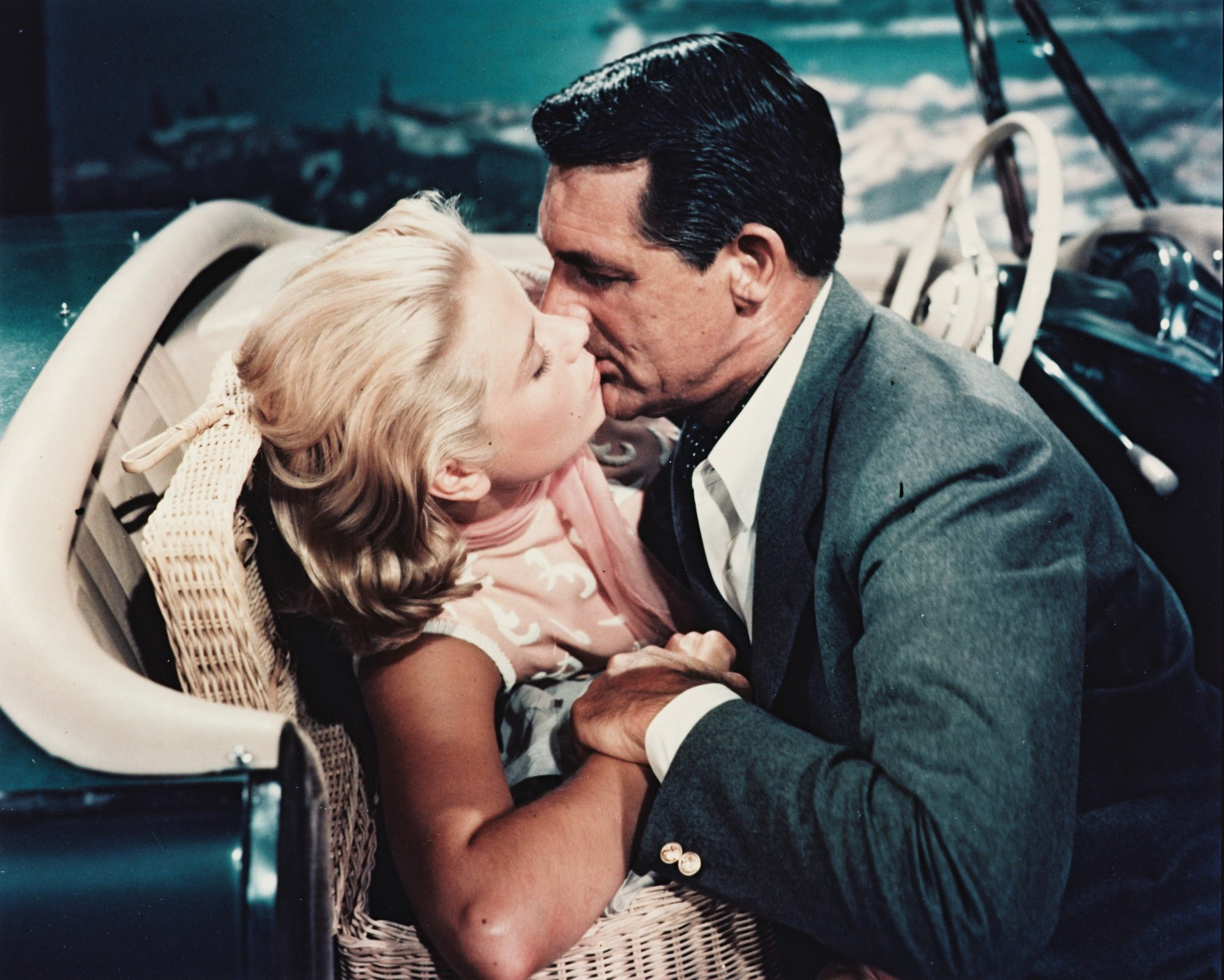 Grace Kelly and Cary Grant in To Catch a Thief 1955