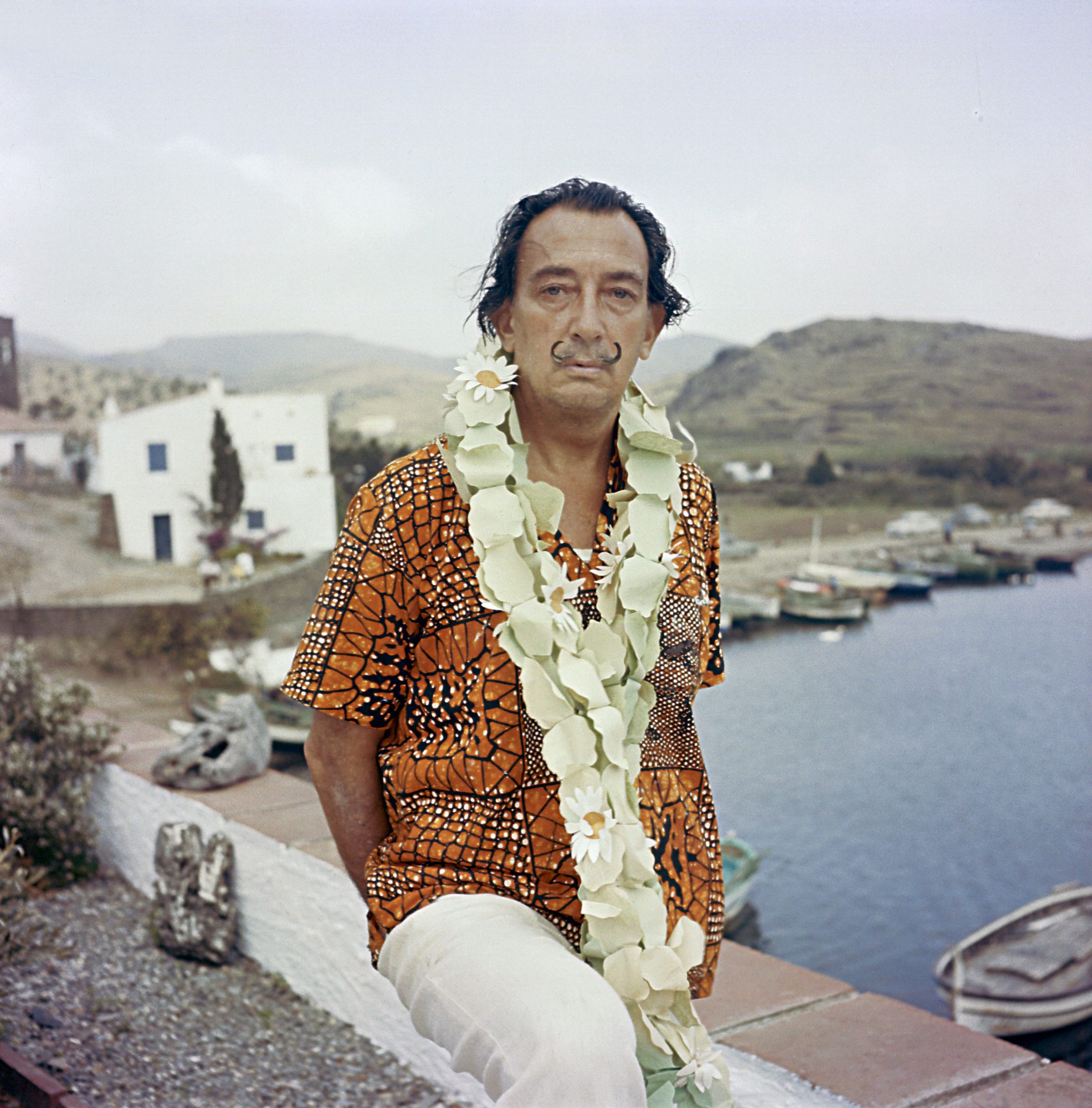 Salvador Dali In Figueres, Spain -