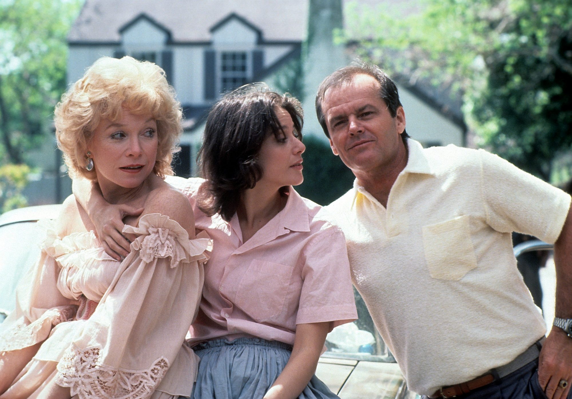 Shirley MacLaine, Debra Winger and Jack Nicholson in Terms of Endearment