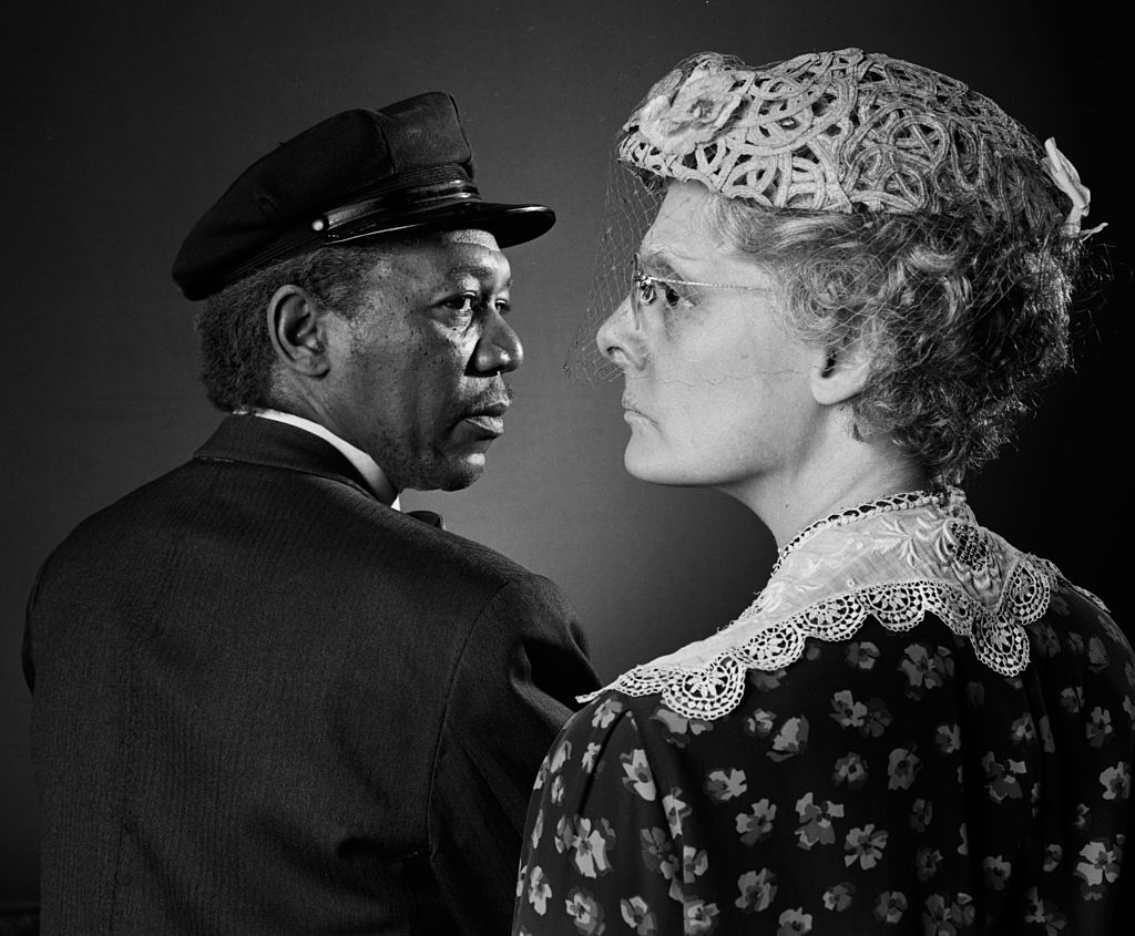 Morgan Freeman and Dana Ivey in Driving Miss Daisy