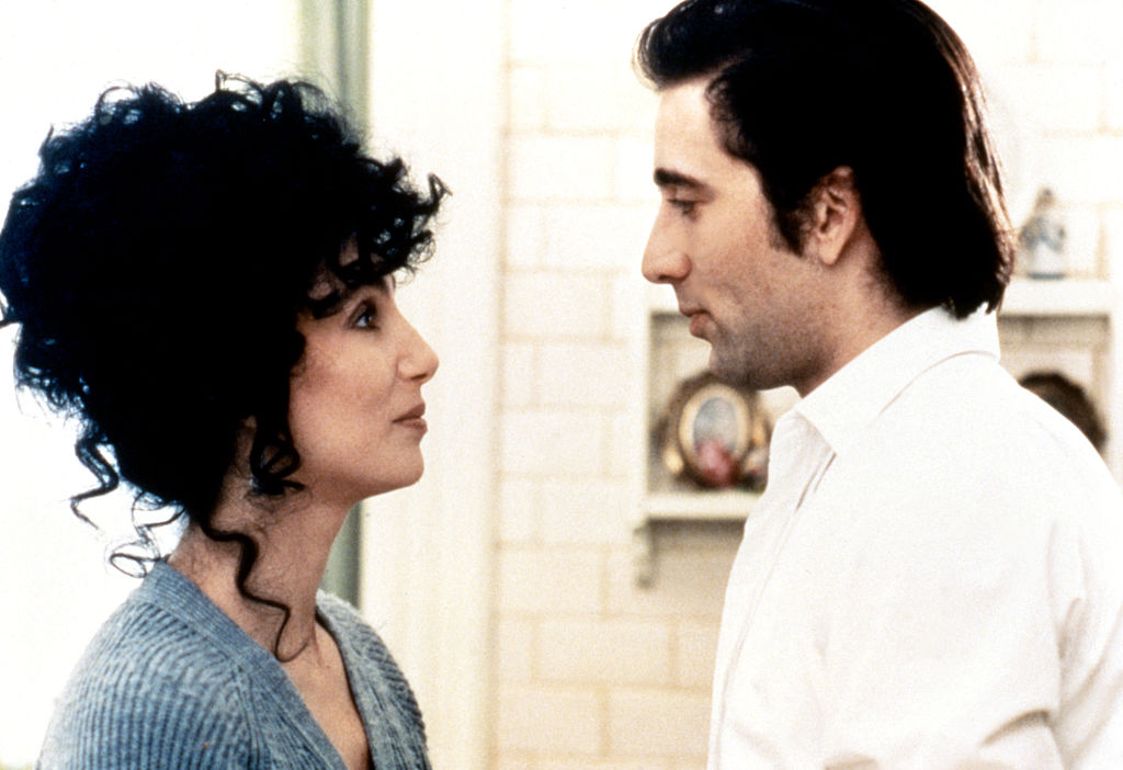Cher and Nicolas Cage in Moonstruck