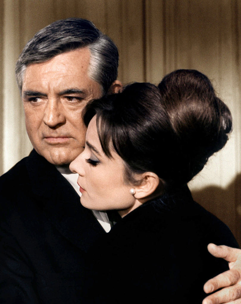 Cary Grant and Audrey Hepburn in Charade