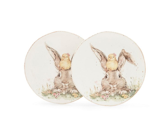 Bunny Accent Plates