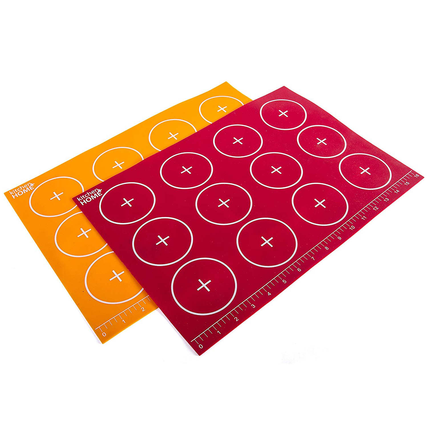 Kitchen + Home Silicone Baking Mats Set of 2 Non-stick